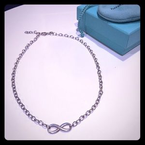 Authentic Tiffany & Co Infinity Necklace